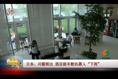"""日本 问题频出 酒店超半数机器人""""下岗"""""""