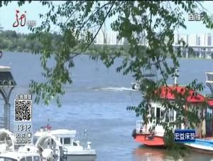 哈尔滨:放生渔船在前 捕鱼黄雀在后