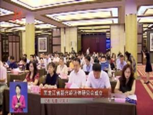 黑龙江省新兴经济体研究会成立