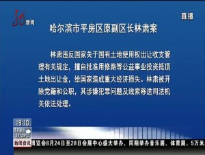 哈尔滨市通报9起违纪典型案例