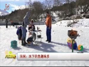 法国:冰下钓鱼趣味多