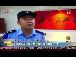 辽宁:暑运高峰 流窜盗窃被擒