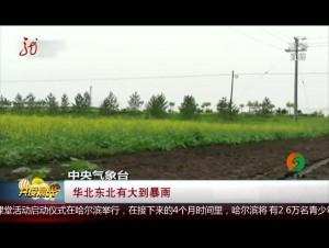 华北东北有大到暴雨
