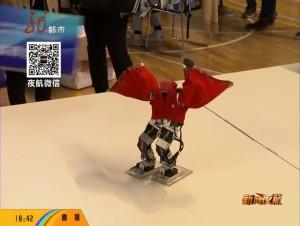 机器人大联欢 小身板中的大智慧