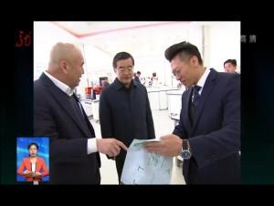 张庆伟在哈尔滨调研民营企业
