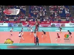 女排世界杯:中国女排3比0俄罗斯 取得三连胜