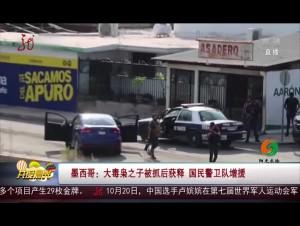 墨西哥:大毒枭之子被抓后获释 国民警卫队增援