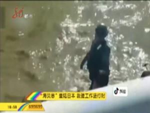 """""""海貝思""""登陸日本 救援工作進行時"""