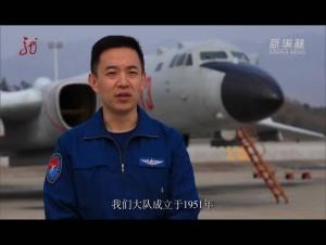 """""""战神""""轰-6K飞行员:国家利益所至,我们航迹必达!"""