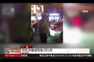 广西 司机涉嫌酒驾致2死3伤