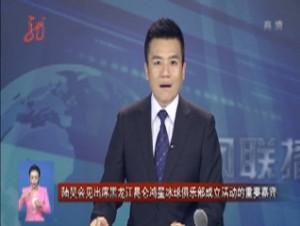陆昊会见出席黑龙江昆仑鸿星冰球俱乐部成立活动的重要嘉宾