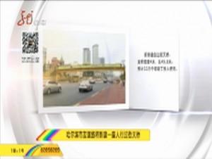 哈尔滨市友谊路将新建一座人行过街天桥