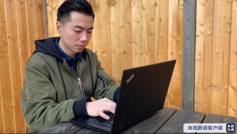 自制每日疫情图 中国留学生成英