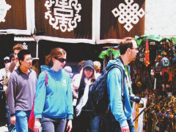 在世界屋脊网购最快几日达?在西藏体验买买买卖卖卖!