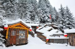 迎纷飞瑞雪踏冬日脚步 中国雪乡于今日正式开园