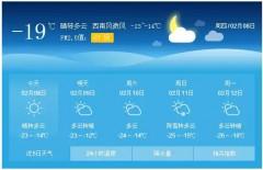 高小微:『注意』今明两天气温短暂回升,随后降温来袭!