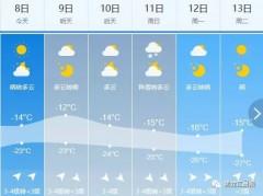 强升温!哈尔滨9日最高-2℃丨10日我省局地降温8-10℃ 有阵雪
