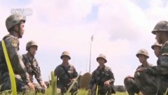 科尔沁草原 陆军炮兵跨昼夜实弹演练