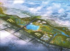 桃山湖壩下環保水利項目開工 打造濕地生態文化區