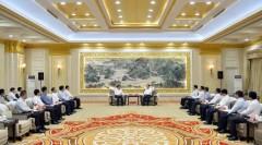 张庆伟会见广东省委副书记、深圳市委书记王伟中