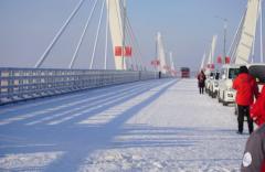 黑河黑龙江大桥通过验收,已具备通车条件!