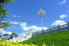 【喜迎十九大】哈尔滨群力外滩美景怡人 居民生活更美好