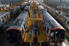 """""""中国制造""""地铁将出口美国 首批列车下线"""
