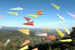 高中生获纸飞机比赛万元大奖 飞行48.2米破纪录