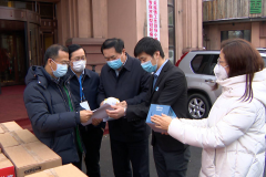 哈尔滨市广东商会捐赠我省2万只N95医用口罩