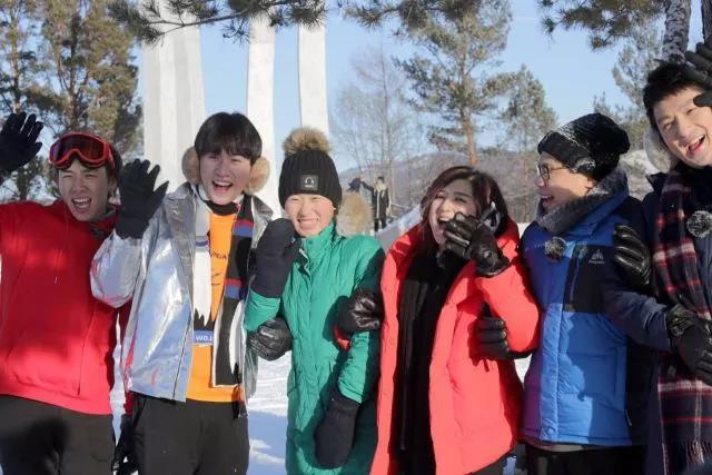 黑龙江省第一档大型冰雪真人秀节目在漠河开机