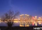 哈尔滨:松花江上枯枝成林 别有一番美感