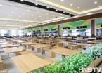 """大学食堂窗明几净如办公楼 哈尔滨一高校打造五星级""""吃""""环境"""