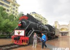 """""""三代火车头""""的变迁见证哈尔滨铁路客运发展"""
