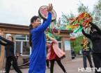 黑龙江佳木斯敖其赫哲族村办起传承民族文化舞蹈班