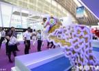 中俄博览会:舞狮机器人引关注