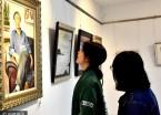 第八届中俄文化大集美术作品展黑河博物馆开幕