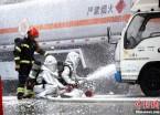 哈尔滨首次举行大规模突发事故应急救援综合演练(组图)
