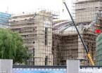 哈尔滨火车站北广场站房建设进入收尾阶段