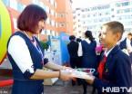 黑河:小学举行教师节活动报师恩(组图)