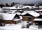 黑龙江漠河降雪达10余厘米 最低气温-8℃(组图)