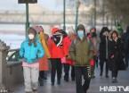 """-20度!哈尔滨迎来入冬后最冷一天 人们穿成""""球""""还喊冷"""