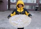 """黑河:-30℃开启""""天然冰箱""""模式 饺子秒速冻(组图)"""
