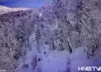 穿越黑龙江雪龙顶 山顶白雪皑皑风光美(组图)