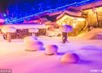 牡丹江双峰林场 中国雪乡(组图)