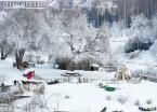 哈尔滨:伏尔加庄园冬日雪景(组图)