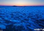 黑龙江江面上的冰花