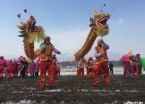 双鸭山:农村举行开耕节仪式  祈愿新年耕种丰收(组图)