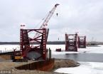 黑河中俄界江黑龙江大桥项目建设进展顺利(组图)