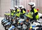 哈尔滨市交警成立铁骑巡逻队为市民出行安全保驾护航(组图)