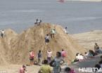 哈尔滨九站老头湾打造沙滩浴场 免费向市民开放